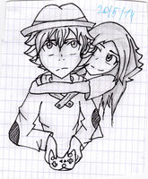 Josh and unmei from Replay by Replay-manga