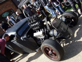 baldock high st car meet , rat , HOT ROD , by Sceptre63