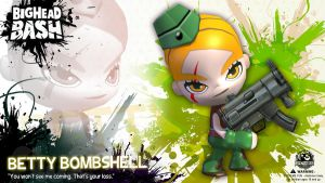 BHB Attack Force Betty Bombshell Wallpaper by SpicyHorseOfficial