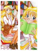 Books - bookmark by ann-chan20