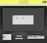 Corp Theme for Windows 8.1 by AFGdesign