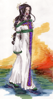 Yari in a Gown by Klork