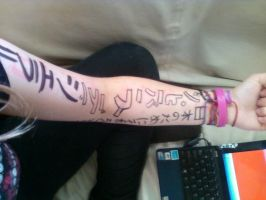 Pre-Concert Arm Drawings by pixie-punk