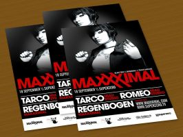 maxxximal flyer by loveisickprojekt