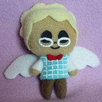 Aziraphale Plush by AmberTDD