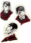 Pavel Face Studies by LucrataNexarii