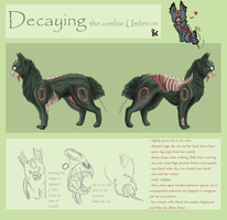 Decaying Official Ref Sheet by CheezieSpaz