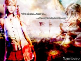 [FF XIII]Serah and Lightning Wallpaper by yoanribeiro