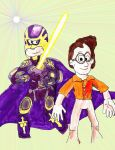 Miles Peterson and Bibleman by SonicClone