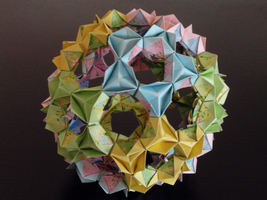 Origami Buckyball by Revenia