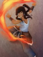 The Avatar Korra by I3ushidoKuroi