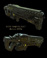 Gauss Rifle by SgtHK