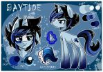 Ref sheet: Baytide by BubblegumBloo