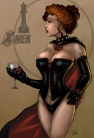 The Black Queen (Jean Grey) by Dunlaoch