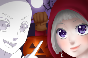 Halloween Collab by linekurosaki