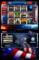 TouchTunes Patriot Theme v2 by Jonzy