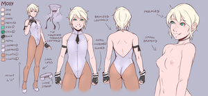 Concept Art - Molly update by Teh-Dave