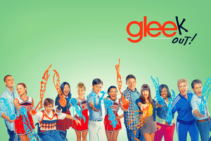 Glee Wallpaper by vintagevic