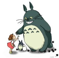 My Neighbor Totoro by ValerieGallery