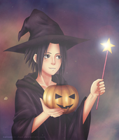 Sasuke on Halloween by Nonsense-chan