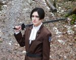 Attack on titan - Levi cosplay by Firmily