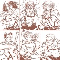 Comic Fiesta Merch Preview - SNK Postcards Set 1-2 by ItoMaki