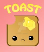 TOAST - Sadface by TheSilvamord
