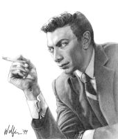 Ed Ames by WolfieArtGuy