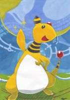 Ampharos by Pokenoll