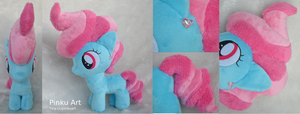 More Mrs. Cake filly plush by PinkuArt