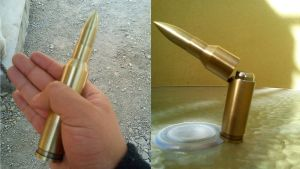 50 BMG rechargeable lighter replica by 96blackarrow