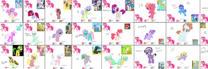 GIANT PINKIE PIE CRACKSHIP ADOPT SHEET + AUCTION by Munchcala