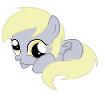Filly Derpy Hooves by AlejaMoreno-Brony