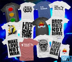 Shirts: Batch 4 by GAME-OVER-CUSTOM