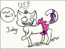 Judge is so Fabulous by ChaoticPuppetMaster
