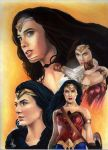 WONDER WOMAN (movie) by ARTIEFISHEL79