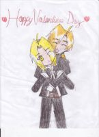 Happy Valentines Day by Edward-x-Alphonse