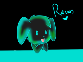 Raven the Puppy by Hachiz