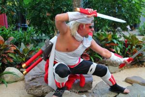 Killer Bee 5 at Katsucon 2014 by kakashi-shishio