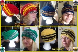 Harry Potter Hats by Kai45