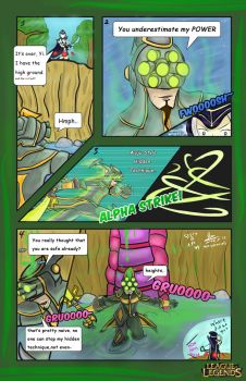 LoL Comic Contest - The Power of Alpha Strike by HayzenR
