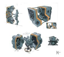 console sketches by mikemars