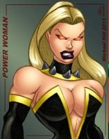 POWER WOMAN COLORED by icemaxx1