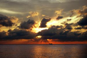 Maldives Sunset by msLazy