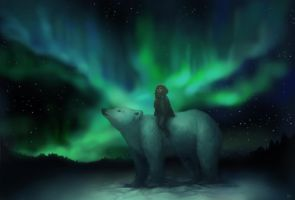 Northern Lights by Khaerii