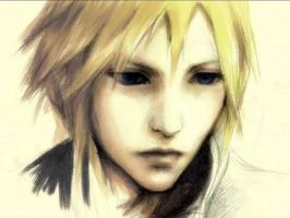 Cloud Final Fantasy 7 by Sampixie