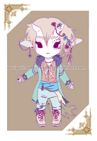 .:White Elf Adopt:. [AUCTION - CLOSED] by PuriPuri-Adoptables