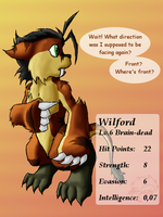 Clubtails: Wilford by Minas-the-Inkwolf