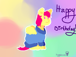 happy birthday!! by Iceyclovers