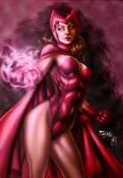Scarlet Witch (colors) by FantasticMystery